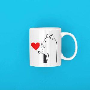 Mug Cat Kiss