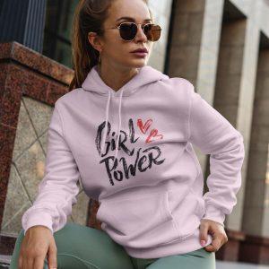 Hoodie Girl Power